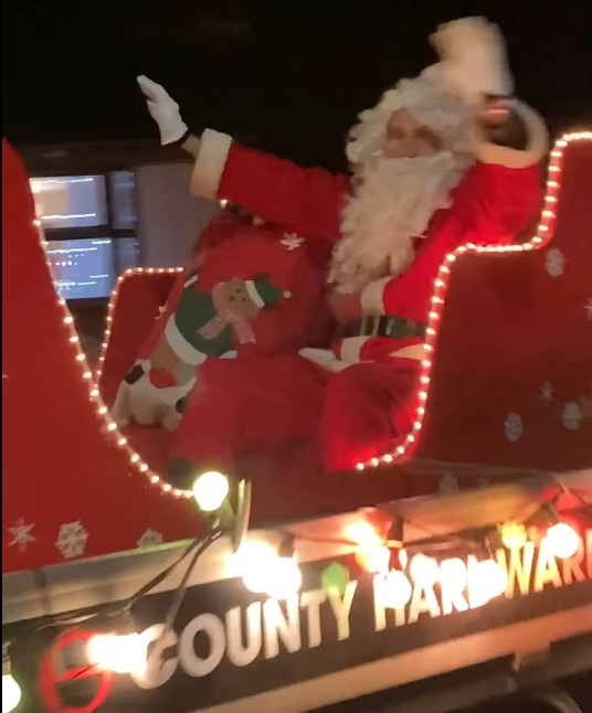 Santa is paying a surprise visit to Donaghadee on Sunday 13th December